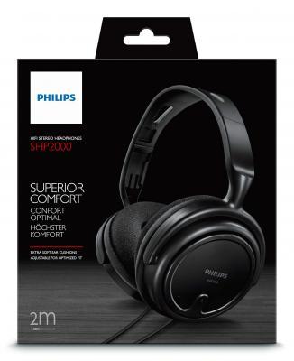все цены на  Наушники Philips SHP2000/10 черный  онлайн