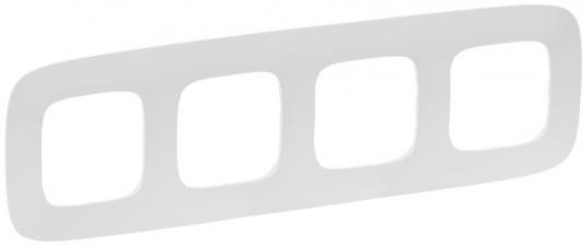 Рамка Legrand Valena Allure 4 поста белый 754304 рамка legrand valena 2 поста белый 774456