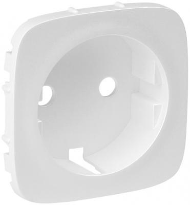 Лицевая панель Legrand Valena Allure для розетки 2К+З белый 755205 лицевая панель legrand galea деко для розетки 2к 3 777022
