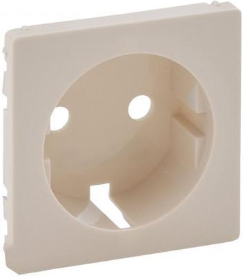 Лицевая панель Legrand Valena Life для розетки 2К+З слоновая кость 755201