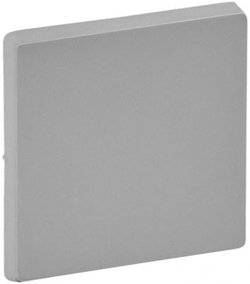 Лицевая панель Legrand Valena Life для выключателя 1-клавишного алюминий 755002 лицевая панель legrand valena life выключателя двухклавишного с подсветкой алюминий 755222