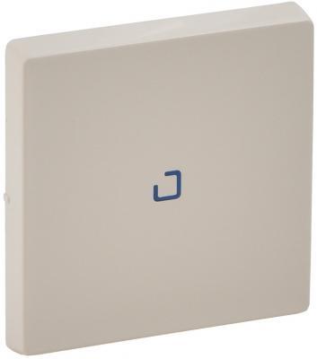 Лицевая панель Legrand Valena Life для выключателя 1-клавишного с подсветкой слоновая кость 755101 лицевая панель legrand valena life выключателя двухклавишного с подсветкой алюминий 755222
