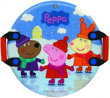 Ледянка Peppa Pig Peppa Т57001 до 100 кг рисунок разноцветный пластик текстиль ПВХ ледянка prosperplast kid isg 361c green