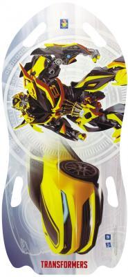 Ледянка 1toy Transformers серый рисунок ПВХ для двоих Т56912