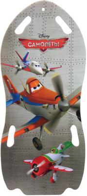 Ледянка 1toy Самолеты (для двоих) Т56366 до 150 кг разноцветный рисунок пластик ледянка disney самолеты для двоих 122см т56366