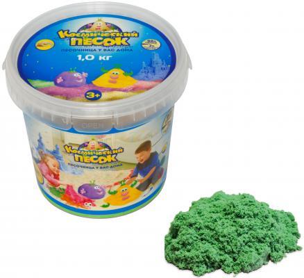 """Космический песок Космический песок """"Зеленый"""" 7 цветов 1 кг Т57733"""