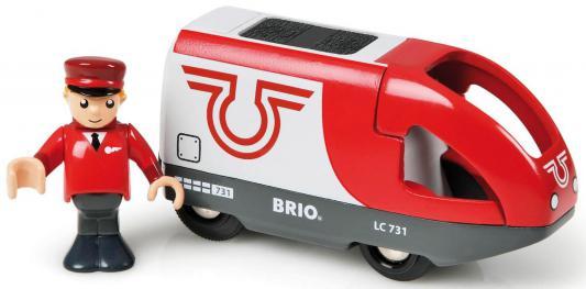 Вагон Brio с машинистом (2 элемента) погрузчик с вращением с магнитом блист brio