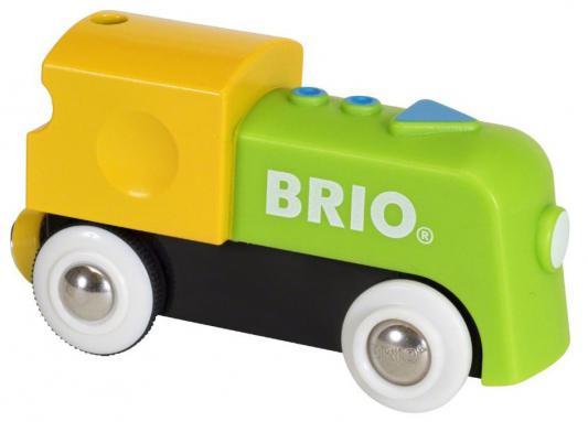 Мой первый паровозик Brio на батарейках 33705