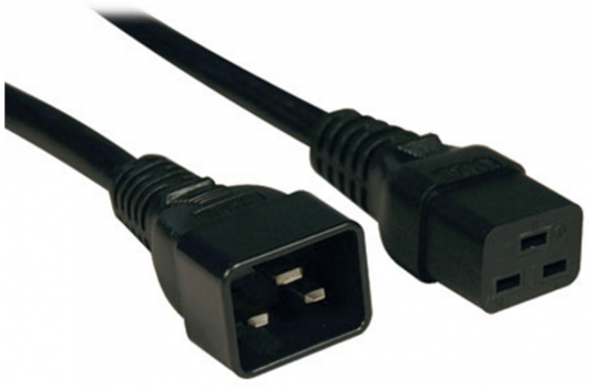 Кабель Tripplite 10-ft  Heavy-Duty Power Extension Cord IEC-320-C19 to IEC-320-C20 P036-010