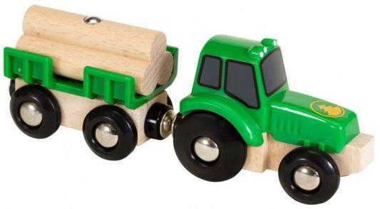 Купить Трактор Brio Трактор с бревнами с 3-х лет 2350337990, Детская железная дорога