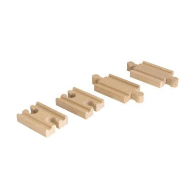 Купить Железная дорога Brio Набор дополнительных деталей к деревянной железной дороге с 3-х лет 33393, Детская железная дорога