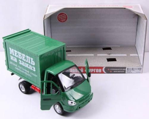 Интерактивная игрушка Play Smart Газель фургон Мебель 24см от 3 лет зелёный 6721