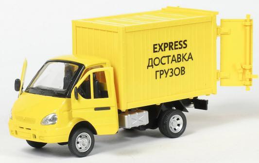 Интерактивная игрушка Play Smart Газель фургон Доставка от 3 лет жёлтый 6721 интерактивная игрушка play smart газель фургон доставка от 3 лет жёлтый 6721