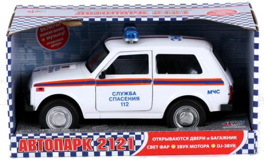 Интерактивная игрушка Play Smart Нива ВАЗ 2121 МЧС от 3 лет белый фаркоп avtos на ваз 2121 21213 усиленный тип крюка h г в н 1200 80кг vaz 22