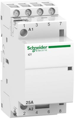 Контактор Schneider Electric iCT25A 4НО 220/240В АС A9C20834
