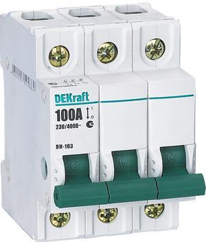 Выключатель нагрузки  Schneider Electric ВН103-3P-063A 17062DEK