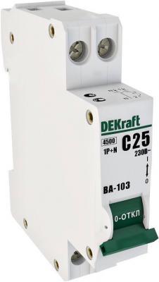 Автоматический выключатель Schneider Electric ВА103 1N 6A C 12180DEK