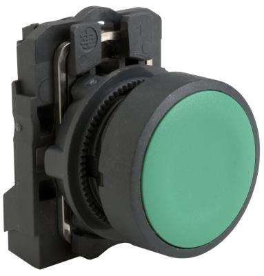 Кнопка Schneider Electric 22мм с возвратом зеленый XB5AA31 кнопка schneider electric xb5aa21 черный