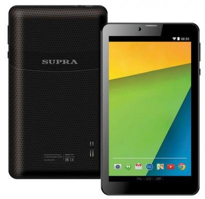 "Планшет Supra M749 7"" 8Gb черный Wi-Fi 3G Bluetooth LTE Android M749"