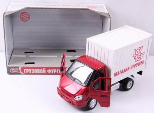 Купить Интерактивная игрушка Play Smart Газель фургон Игрушки от 3 лет бело-красный, 24 см, пластик, для мальчика, Интерактивные игрушки