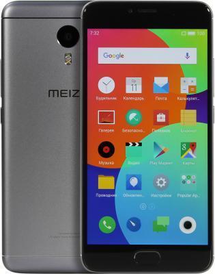 """Смартфон Meizu M3 Note серый 5.5"""" 32 Гб LTE Wi-Fi GPS L681H"""