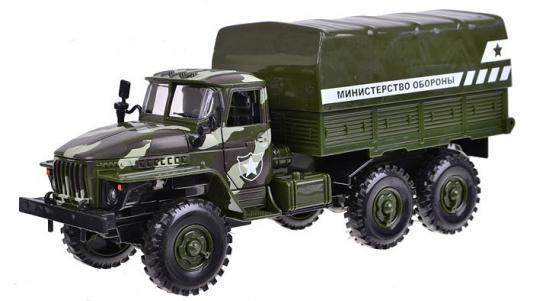 Грузовик Play Smart Автопарк. Министерство обороны разноцветный 6721 инерционная металлическая машинка play smart 1 52 грузовик огнеопасно красный 16x6x7 65см