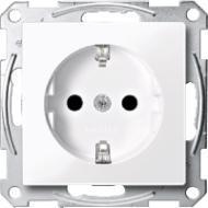 Розетка Schneider Electric Shuko с защитными шторками MTN2300-0325  цена и фото