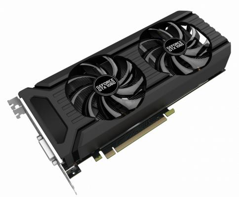 Видеокарта 6144Mb Palit GeForce GTX1060 Dual PCI-E 192bit GDDR5 DVI HDMI DP PA-GTX1060 Dual 6G Retail