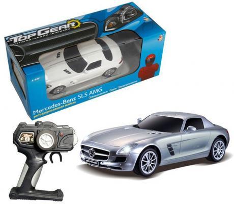 Машинка на радиоуправлении Top Gear Top Gear - Mercedes Benz SLS пластик от 4 лет цвет в ассортименте 1:18, свет, без заряд. устройства, Т56688 1toy mercedes benz m350 1 24 top gear с зарядным устройством