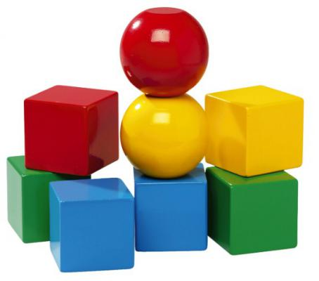 Кубики Brio на магнитах от 1 года 8 шт 30123