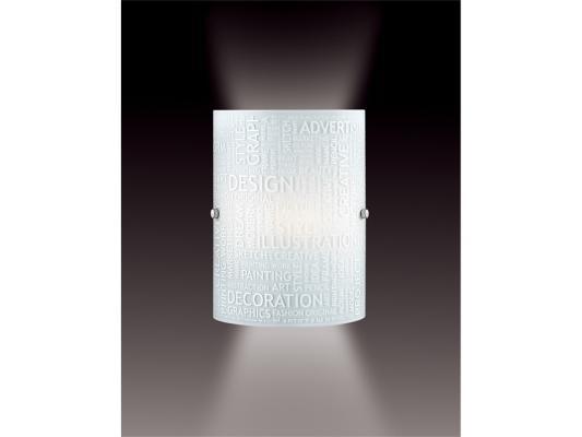 Настенный светильник Sonex Grafika 1257 настенный светильник sonex 1257 sn15 068 grafika
