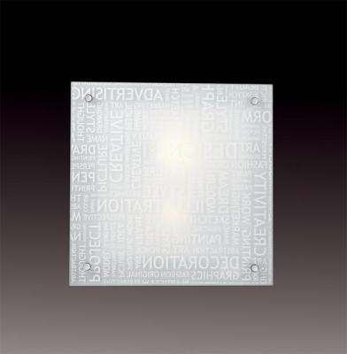 Настенный светильник Sonex Grafika 2257 настенно потолочный светильник sonex 2257 sn15 068 grafika chrome white