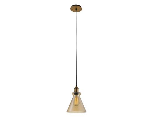 Подвесной светильник Crystal Lux Campanella SP1 Amber