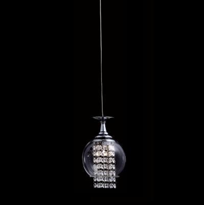 Подвесной светильник Crystal Lux Chik SP1 Chrome подвесной светильник crystal lux uva chrome sp1