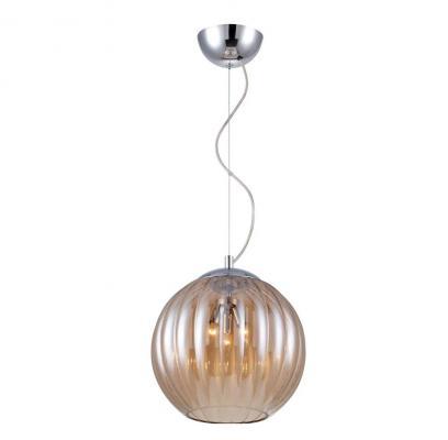 все цены на Подвесной светильник Crystal Lux Globo SP3 Amber онлайн