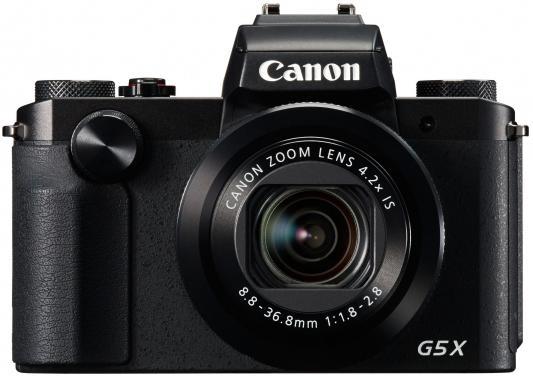 Фотоаппарат Canon PowerShot G5 X 20Mp 4.2xZoom черный 0510C002 стоимость