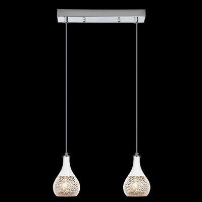 Подвесной светильник Eurosvet 50010/2 хром подвесной светильник eurosvet 50010 3 хром