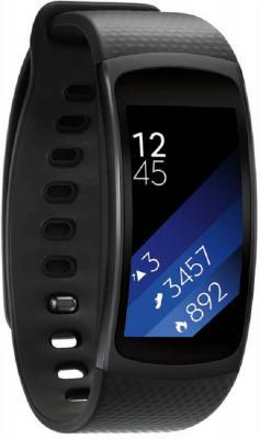Смарт-часы Samsung Galaxy Gear Fit 2 SM-R360 серый SM-R3600DAASER