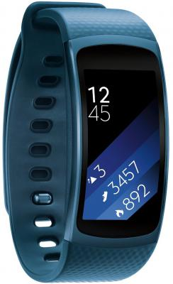 Смарт-часы Samsung Galaxy Gear Fit 2 SM-R360 синий SM-R3600ZBASER