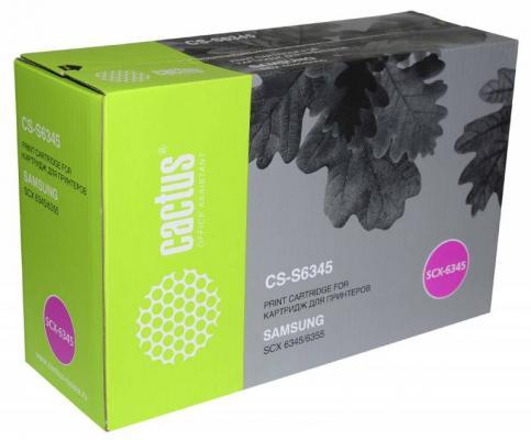 Картридж Cactus CS-S6345 для Samsung SCX 6345/6355 черный 20000стр тонер картридж samsung mlt k606s see для scx 8040nd черный 35000стр