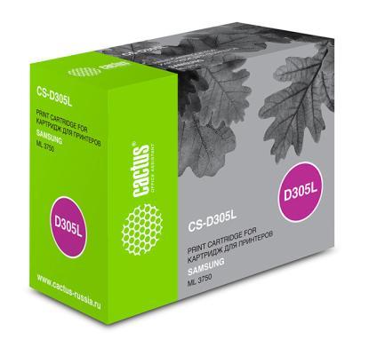 Картридж Cactus CS-D305L для Samsung ML 3750 черный 15000стр картридж samsung mlt d305l для ml 3750nd