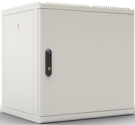 лучшая цена Шкаф настенный 12U ЦМО ШРН-М-12.500.1 600x456mm дверь металл 50кг серый