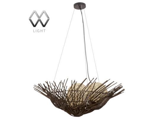 Подвесной светильник MW-Light Ротанг 226016203