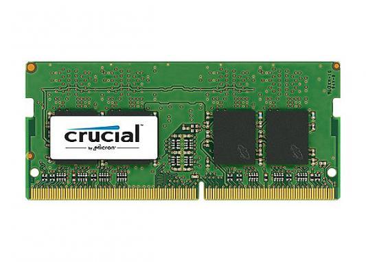Оперативная память для ноутбуков SO-DDR4 8Gb PC17000 2133MHz Crucial CT8G4SFS8213