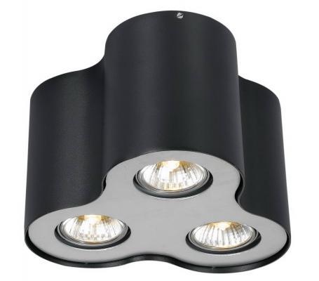 Потолочный светильник Arte Lamp Falcon A5633PL-3BK потолочный светильник arte lamp falcon a5633pl 3bk
