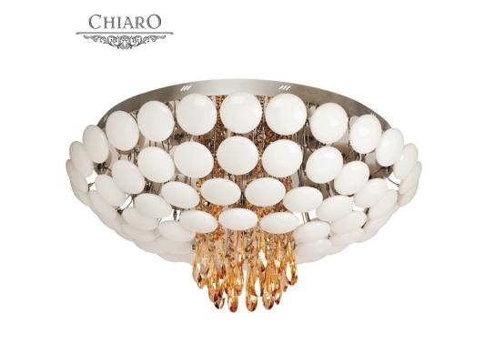 Потолочный светильник Chiaro Злата 600010223 потолочный светильник chiaro кларис 437012602