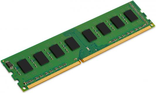 Оперативная память 4Gb (1x4Gb) PC3-10600 1333MHz DDR3 DIMM CL9 Kingston KCP313NS8/4 память ddr3 2gb 1333mhz kingston kvr13n9s6 2 rtl pc3 10600