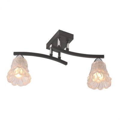 Потолочный светильник IDLamp Simone 217/2PF-Blackchrome светильник потолочный idlamp 217 2pf blackchrome