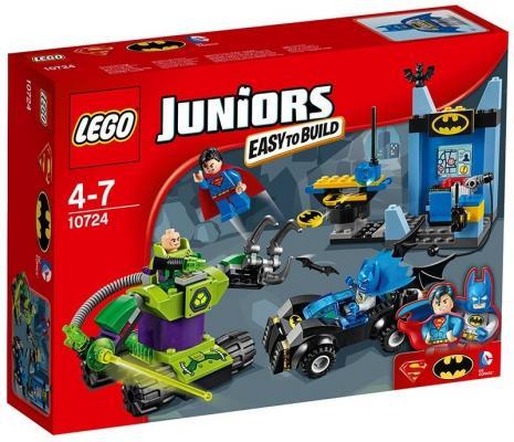 Конструктор Lego Джуниорс Бэтмен и Супермен против Лекса Лютора 164 элемента 10724