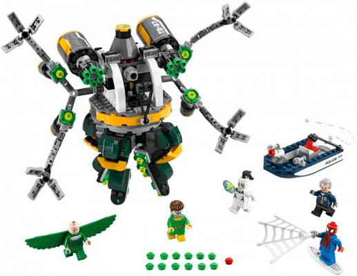 Конструктор Lego Super Heroes Человек-паук : В ловушке Доктора Осьминога 650 элементов 76059